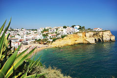 Carvoeiro beach village. Stock Photography