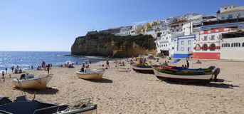 Carvoeiro beach vista. Stock Images