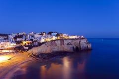 Carvoeiro en el Algarve Portugal Imágenes de archivo libres de regalías