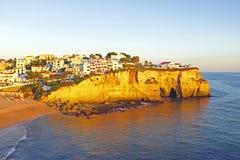 Carvoeiro nell'Algarve Portogallo Immagini Stock Libere da Diritti
