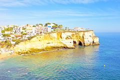 Carvoeiro in Portugal Royalty Free Stock Photos