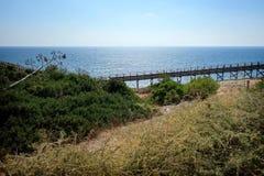 Carvoeiro Promenade/Portugal lizenzfreie stockfotos