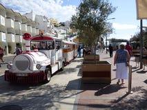 Carvoeiro turístico del tren Fotos de archivo