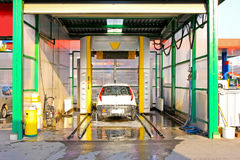 carwash Royaltyfria Bilder
