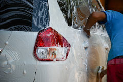 Carwash Royaltyfri Foto