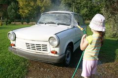 Carwash Royalty-vrije Stock Foto's