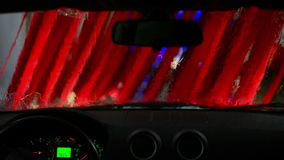 Carwash stock footage