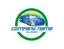 Carwash design. Carwash logo on white background stock illustration