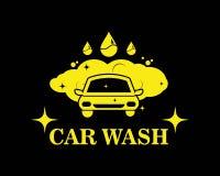 Carwash icon logo vector illustration. Template royalty free illustration