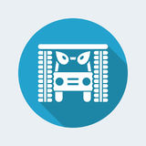 Carwash icon. Vector illustration of single isolated carwash icon stock illustration