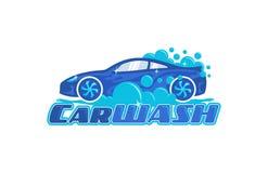 Free Carwash Logo Design Stock Images - 158459004