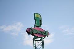 Carwash Sign Royalty Free Stock Image