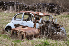 Carwreck Lizenzfreies Stockbild