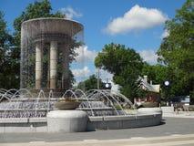 Cary, Carolina Park norte e Art Center Foto de Stock Royalty Free