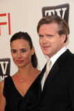 Cary Elwes, Morgan Freeman. Cary Elwes at AFI's 39th Annual Achievement Award Honoring Morgan Freeman, Sony Pictures Studios, Culver City, CA. 06-09-11 stock photography
