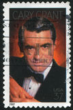 Cary Grant. UNITED STATES - CIRCA 2002: stamp printed by United states, shows Cary Grant, Actor, circa 2002 Stock Photo
