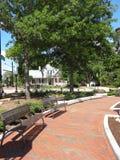 Cary, het Noorden Carolina Park Stock Afbeelding