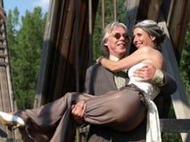 Cary la mariée. Images libres de droits