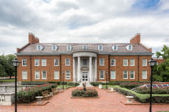 Cary M. MacGuire Building on the Campus of Southern Methodist Un Royalty Free Stock Photo