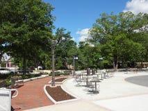Cary, Nord-Carolina Park Lizenzfreies Stockfoto