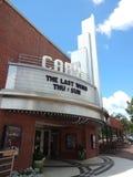 Cary Theatre i North Carolina Fotografering för Bildbyråer