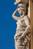 Caryatid Royalty Free Stock Photo