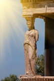 Caryatid at Acropolis, Greece Royalty Free Stock Image
