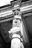 Caryatid column Stock Photos