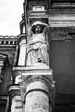Caryatid column Stock Photography