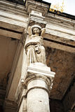 Caryatid column Royalty Free Stock Photos