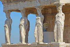 Caryatid Porch Royalty Free Stock Images