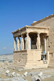 Caryatid Porch of Erechtheum Royalty Free Stock Image