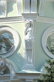 The Caryatid. Von Reck mansion. 1897 Architect Sherwood Sunlight Stock Image