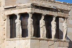 Caryatides Stock Photos