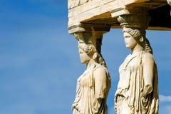 Caryatides Stock Images