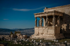 Caryatides Photo stock