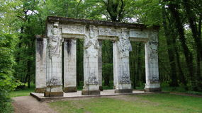 Caryatides  atChateau Chenonceau in Loire Valley Royalty Free Stock Photos