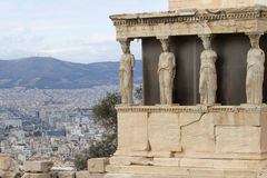 Caryatids Stock Photography