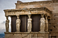 caryatids Royalty-vrije Stock Foto's