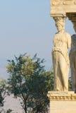 Caryatids, acropolis, athens Royalty Free Stock Image