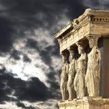 Caryatids, Acropolis of Athens, Greece Royalty Free Stock Image