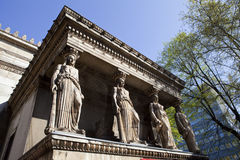 The Caryatids at St Pancras Parish Church. (or also known as St Pancras New Church) in London royalty free stock photos