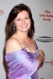 Caryn Richman che arriva al partito 2009 del rullo del residuo di stoffa Immagine Stock