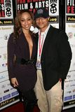 Caryn Ward and Clinton H. Wallace at the Pan African Film Festival Premiere of 'Layla'. Culver Plaza Theatre, Culver City, CA. 02- Stock Photography