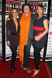 Caryn Ward with Lydia Martinelli and Daniella Blechner at the Pan African Film Festival Premiere of 'Layla'. Culver Plaza Theatre, Stock Image