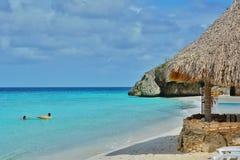 Cas Abou Beach image stock