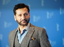 Cas Anvar poses at the `The Operative. ` Die Agentin photocall during the 69th Berlinale International Film Festival Berlin at Grand Hyatt Hotel on February 10 stock image