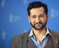 Cas Anvar poses at the `The Operative. ` Die Agentin photocall during the 69th Berlinale International Film Festival Berlin at Grand Hyatt Hotel on February 10 stock photography