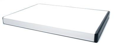 Cas blanc de DVD Photographie stock libre de droits