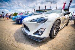 CAS 2014 (DE AUTOsalon VAN CHINA) Stock Foto's